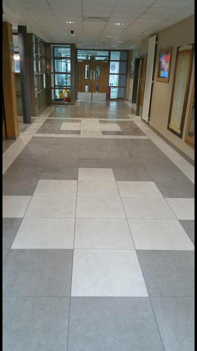 South West Regional College Dungannon Contract Tile And
